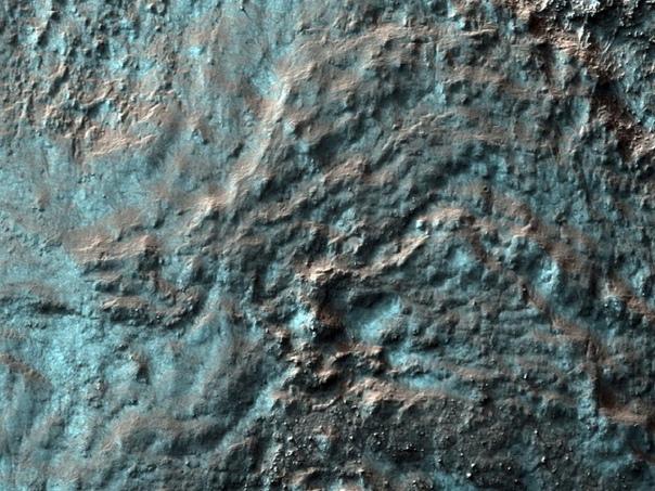 Марс в холодное время года