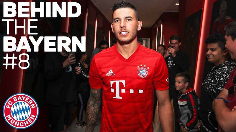 Lucas Hernández - First Day at FC Bayern | Behind The Bayern 8