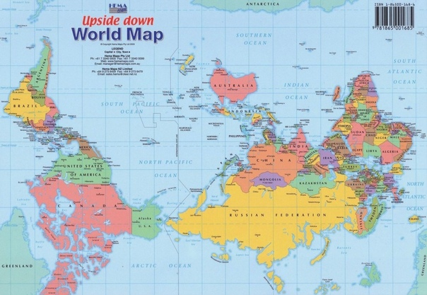КАРТЫ МИРА, КАК ОНИ ВЫГЛЯДЯТ В РАЗНЫХ СТРАНАХ Карты мира, которые мы видим с детстваособенно те, что нам показывают ещё в школеформируют наше представление о том, как устроен мир. В этом не было