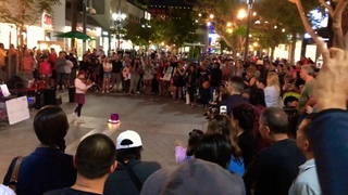 What About Us - Pink - Karolina Protsenko -  Violin Cover (Show) - Busking