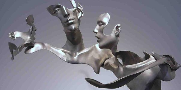 Эффект незавершенности в скульптурах Коллективное творчество явление довольно редкое в мире искусства и в области скульптуры в частности, но три китайских художника - Лю Чжан (Liu Zhan), Куанг