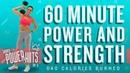 60 Minute Power Strength Workout 🔥Burn 640 Calories!* 🔥Sydney Cummings