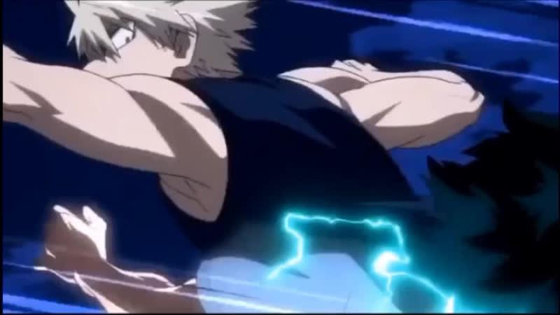 Deku vs bakugou