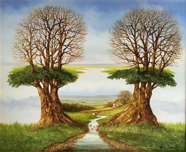 Нил Саймон - британский художник, пишет картины маслом Их хочется долго рассматривать, сюжеты буквально «вытекают» один из другого. И все всегда не так, как кажется на первый взгляд. Словно ты