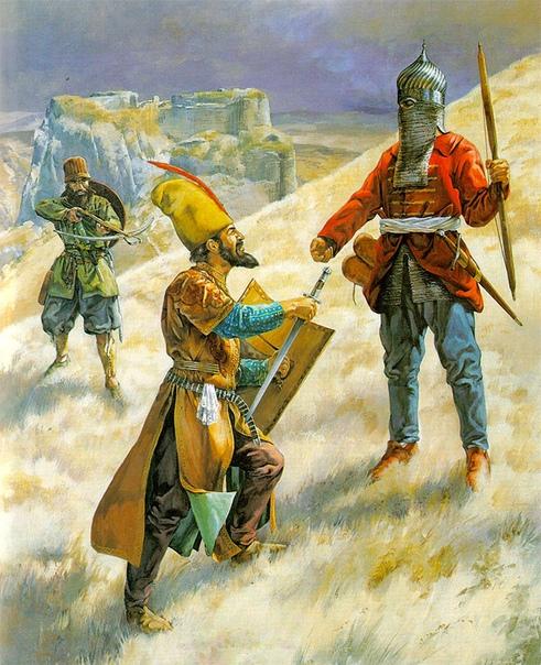 ЯНЫЧАРЫ. Часть 1 У турок пехота впервые появилась во время правления Орхана (1324-1359). Османы творчески переработали византийский военный опыт. В войске греков хорошо проявили себя пешие