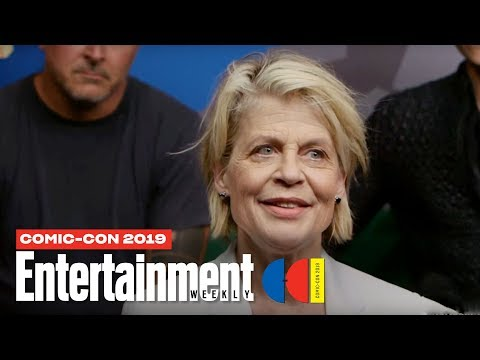 'Terminator: Dark Fate' Cast Joins Us LIVE | SDCC 2019 | Entertainment Weekly