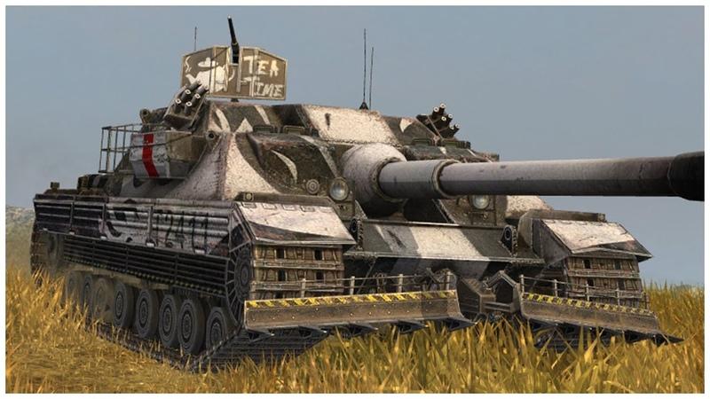 FV217 Badger • 7.5К УРОНА