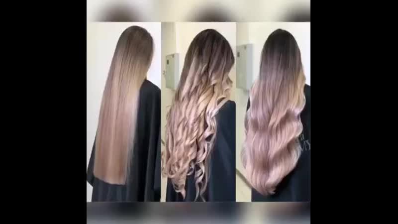 Осветление волос продуктом Умная пропитка