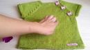 Простой жилет спицами детский (р.92-110) для ленивых без расчетов МК