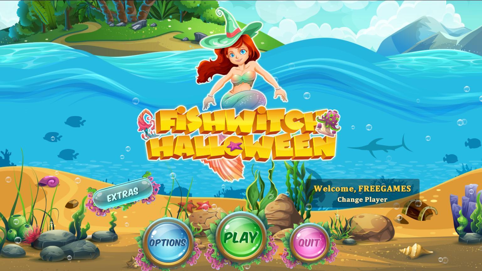 Рыбная ведьма Хэллоуин | FishWitch Halloween (En)