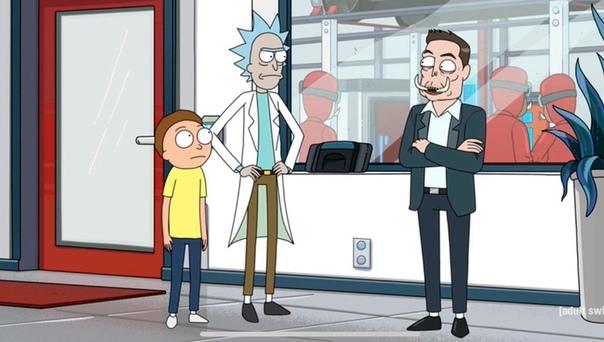 Илон Маск появился в новой серии четвертого сезона «Рика и Морти»