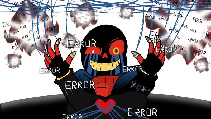 ERROR Sans Animation Stronger Than you