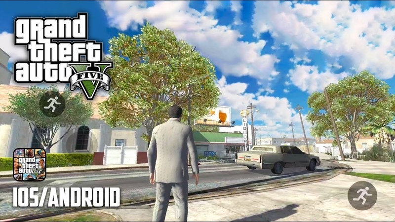 GTA 5 MOBILE - Android / iOS - GTA V (COPY) ANDROID GAMEPLAY (BETA 1.2)