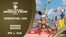 Women's Bronze Medal JPN vs AUS 3* Edmonton CAN 2019 FIVB Beach Volleyball World Tour