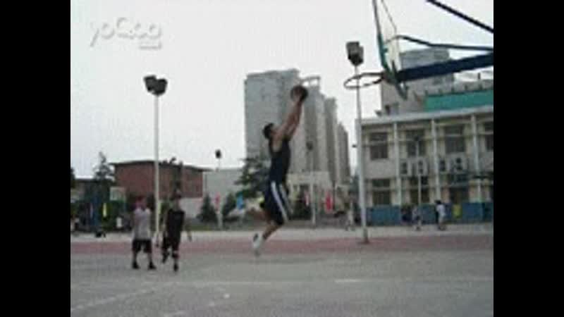 Slam dunk fail