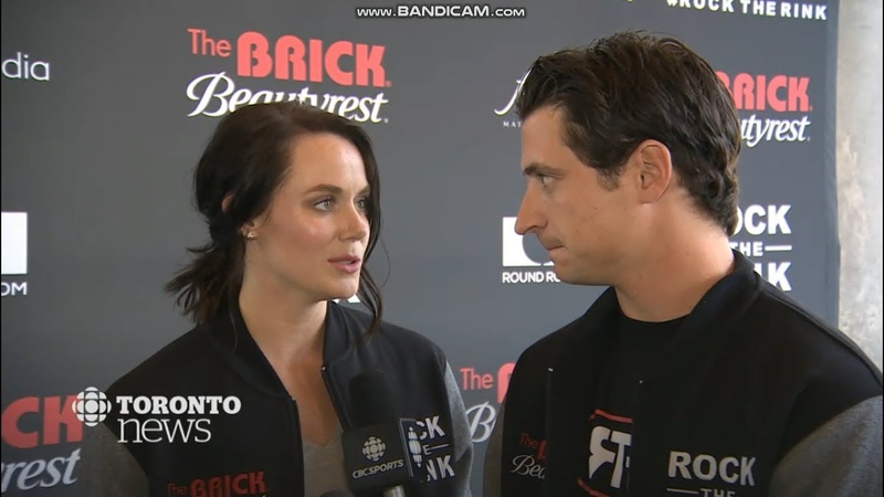Tessa Virtue and Scott Moir on CBC Toronto News