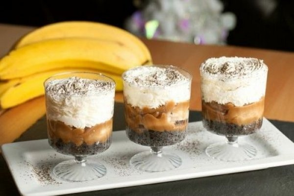 Трайфл с бананом и кофе: вкуснейший десерт на  скорую руку