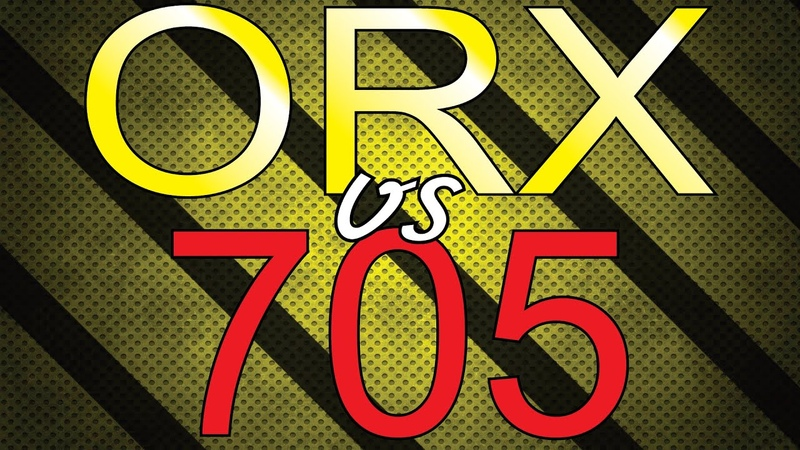 Xp Orx HF vs Minelab X-terrra 705. Тест на серебро в грунте.