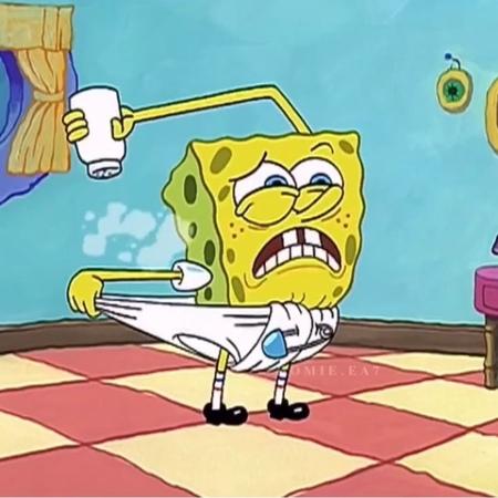 """𝒵𝑀𝑀𝒪𝒪𝒟 on Instagram: """"Хочу чтобы целовали пальчик когда «бо-бо»...😂 spongebob губкабоб спанчбоб тнт @homie.ea7"""""""