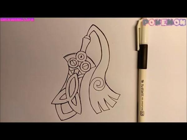 DRAWING POKEMON-Vẽ Honedge đơn giản chỉ cần 1 cây bút line