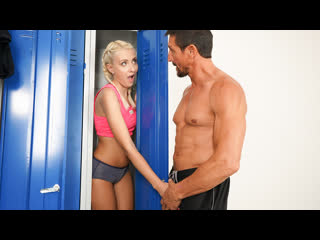 Helena moeller - young blonde fucked in locker room fitnessrooms.com all sex blowjob gym workout doggystyle brazzers porn порно