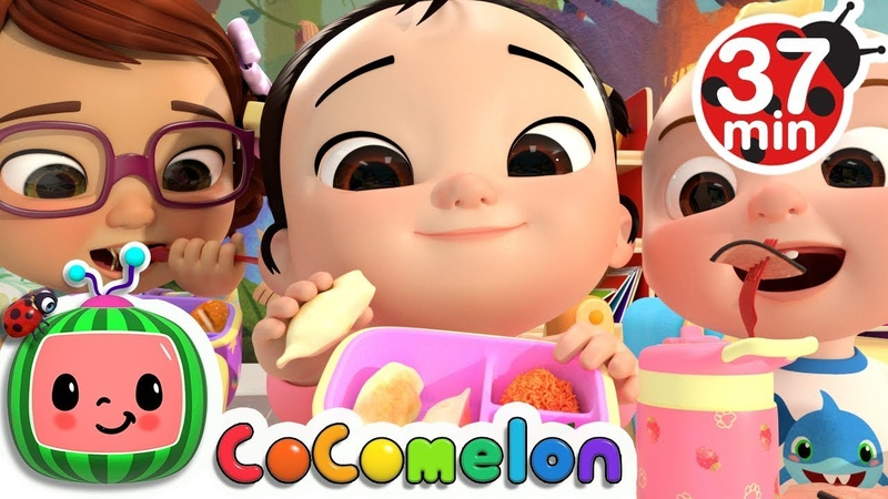 The Lunch Song More Nursery Rhymes Kids Songs - CoCoMelon