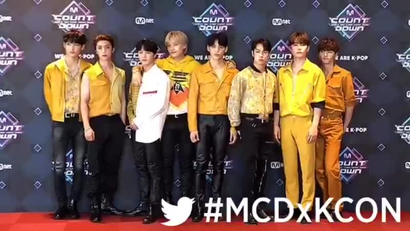 190718 MNET MCountdown Media Photo Session