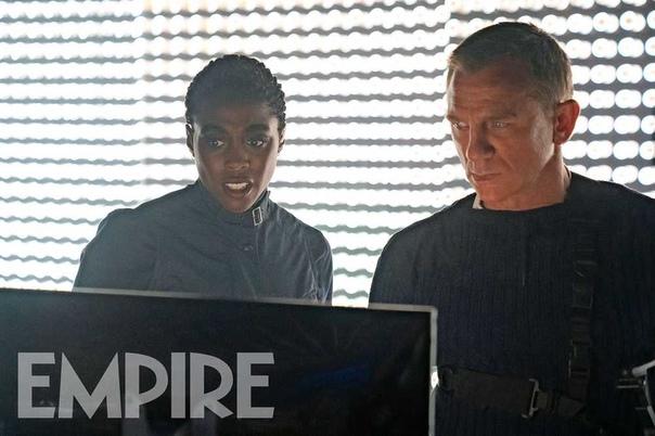 Новые кадры блокбастера «007: Не время умирать» В кино с 9 апреля.