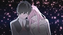 Darling in the FranXX Hiro and Zero Two ❤