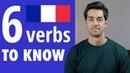 6 verbes indispensables en francais
