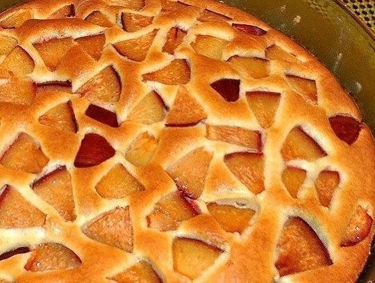 Пирог фруктовый.