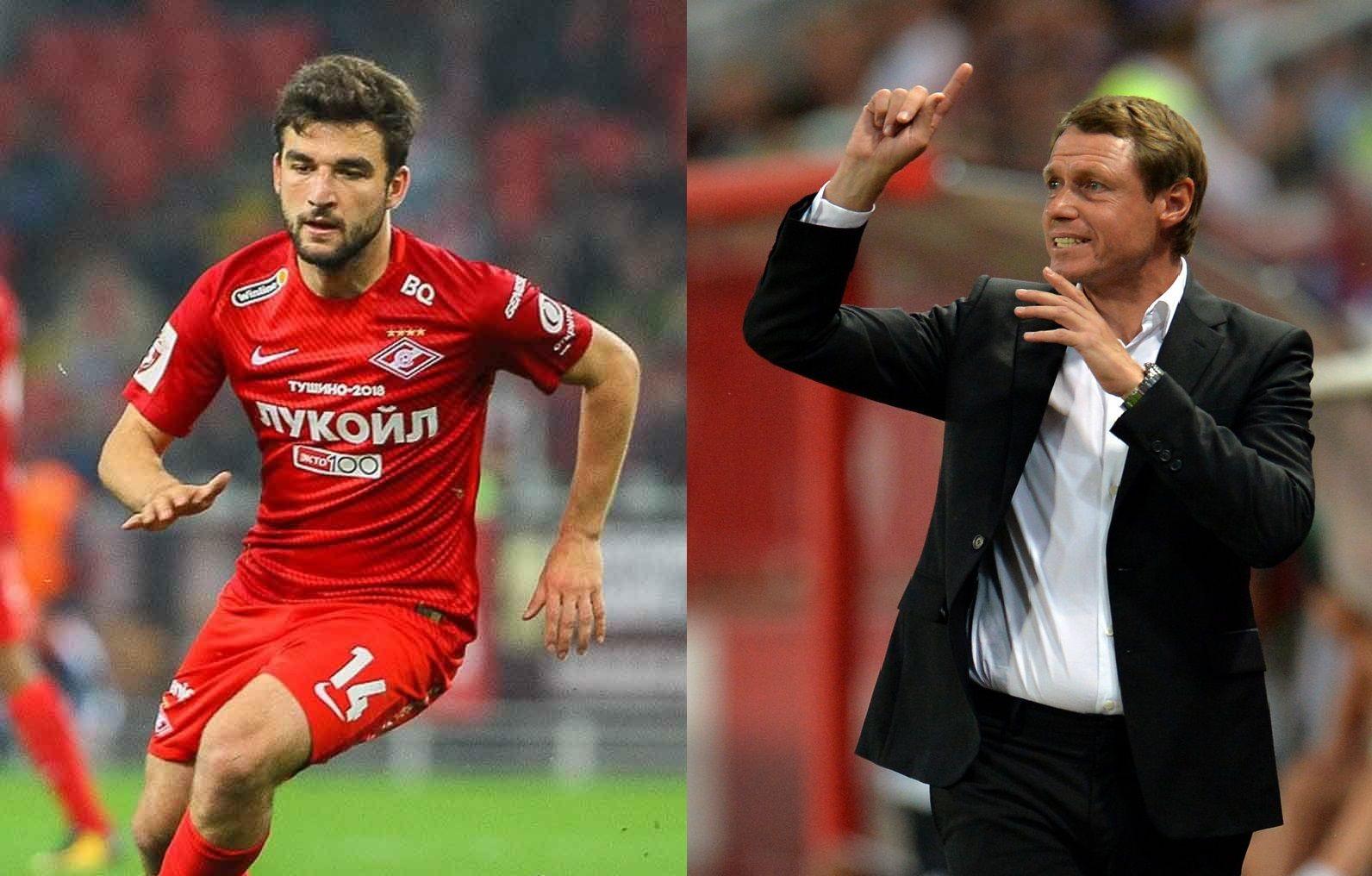 Георгий Джикия и Олег Кононов