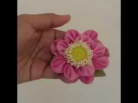 พับดอกบัวแบบสวยๆ ง่ายๆ เห็นชัด มือไม่บ3633