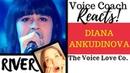 Voice Coach Reacts Diana Ankudinova River диана анкудинова