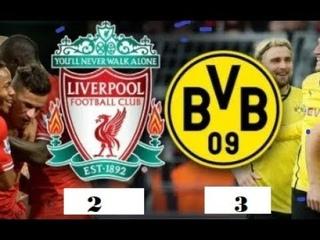 Dortmund vs Liverpool (3-2)  Match 2019  Goals__ (pre-season)