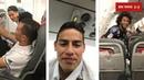 James Rodríguez trasmitiendo con el Real Madrid desde el avion
