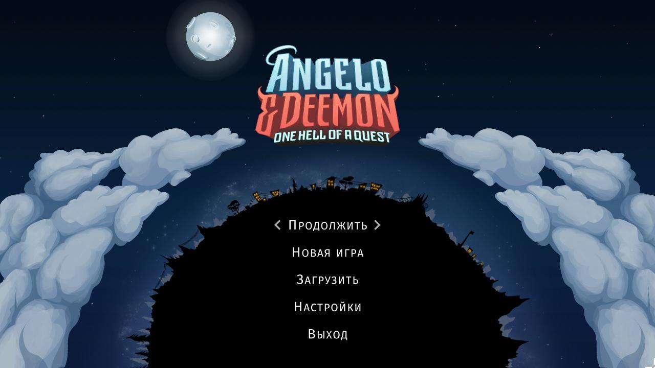 Анжело и Смерть: Чертовски адский квест | Angelo and Deemon: One Hell of a Quest Multi (Rus)