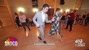 Markos Karmazin and Darya Pynchenkova Salsa Dancing at BIG RUSSIAN TOOSA 2019, Friday 21.06.2019