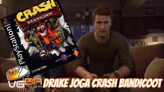 Uncharted 4 - Nathan Drake joga Crash Bandicoot no PS1 Dublado PT-BR