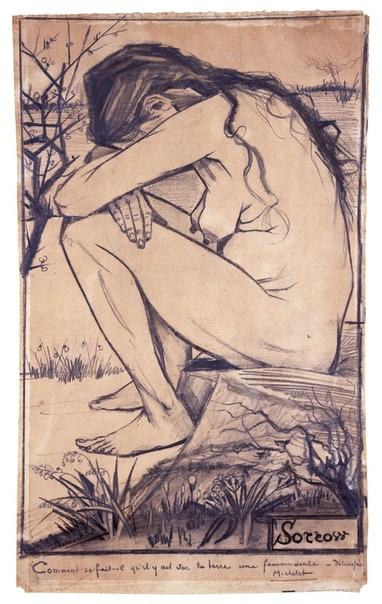 « одного шедевра». «Скорбь», Винсент Ван Гог 1882г. Бумага, карандаш, ручка. Размер: 44,5 × 27 см. Коллекция Гармэна Райана в Новой галерее искусств, Rushall Графический рисунок, выполненный