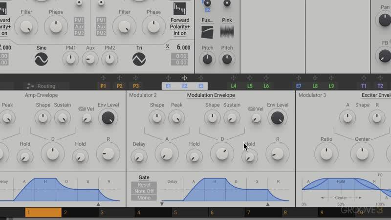 24 Noise Oscillator One Shots