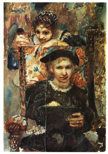 « одного шедевра».«Гамлет и Офелия. Эскиз», Михаил Врубель