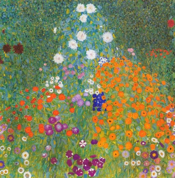 « одного шедевра». «Цветущий сад», Густав Климт