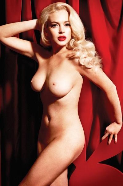 Линдси Лохан для журнала Playboy, Январь 2012