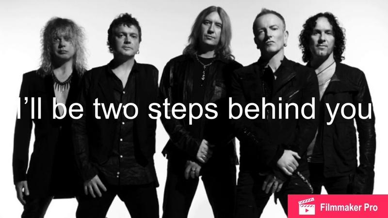 LYRICS Two Steps Behind by Def Leppard