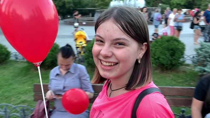 Дарим шарики Одесса Суворовский р-он 05.07.2019 ЯШАРЮ Ч3