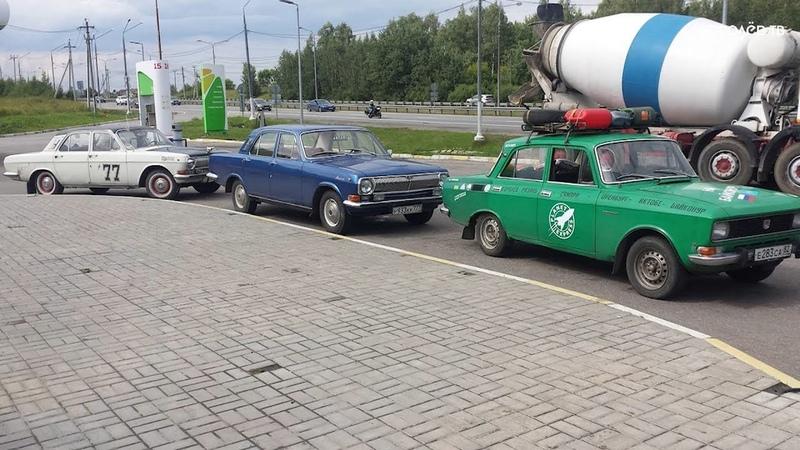 Авантюристы из Королёва на ретромобилях доехали до Байконура