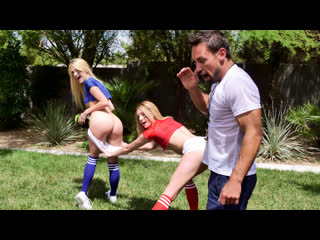 [teamskeet] charlotte sins, kenna james - stepsister football fuckers newporn2019