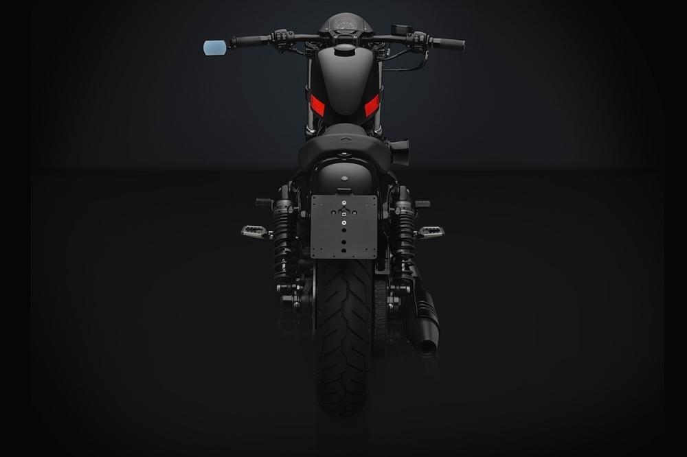Кастомизированный Rizoma Harley-Davidson Sportster Forty-Eight в итальянском стиле