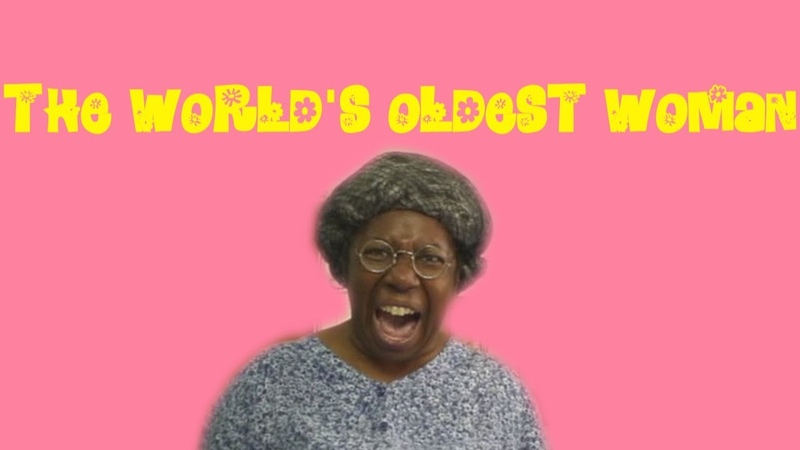 The World's Oldest Woman 😂COMEDY😂
